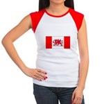 Welsh Canadian Women's Cap Sleeve T-Shirt