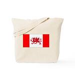 Welsh Canadian Tote Bag