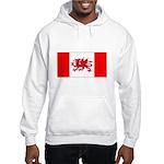 Welsh Canadian Hooded Sweatshirt