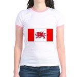 Welsh Canadian Jr. Ringer T-Shirt