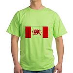 Welsh Canadian Green T-Shirt