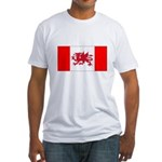 Welsh Canadian Fitted T-Shirt