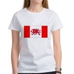 Welsh Canadian Women's T-Shirt