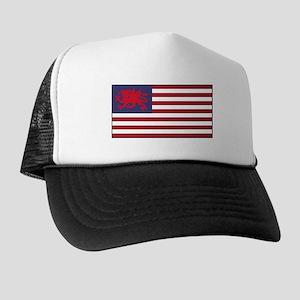 Welsh American Trucker Hat