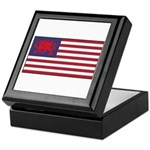 Welsh American Keepsake Box