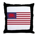 Welsh American Throw Pillow