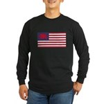 Welsh American Long Sleeve Dark T-Shirt