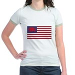 Welsh American Jr. Ringer T-Shirt