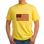 Welsh American Yellow T-Shirt