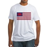 Welsh American Fitted T-Shirt