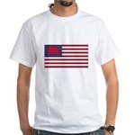Welsh American White T-Shirt
