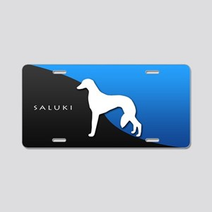 Saluki Aluminum License Plate