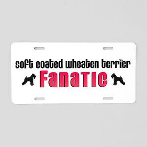 Soft Coated Wheaten Terrier F Aluminum License Pla