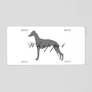 Whippet Aluminum License Plate