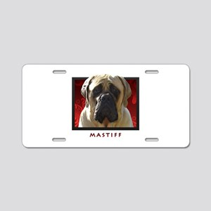 Mastiff Aluminum License Plate