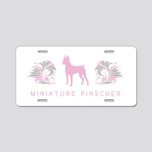 """Elegant"" Miniature Pinscher Aluminum Li"