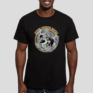 Gypsy Horses Rock Men's Fitted T-Shirt (dark)