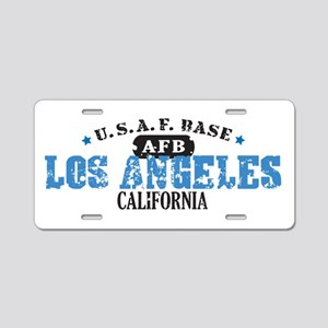 Los Angeles Air Force Base Aluminum License Plate