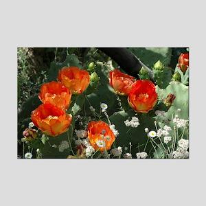 Orange Prickly Pear Mini Poster Print