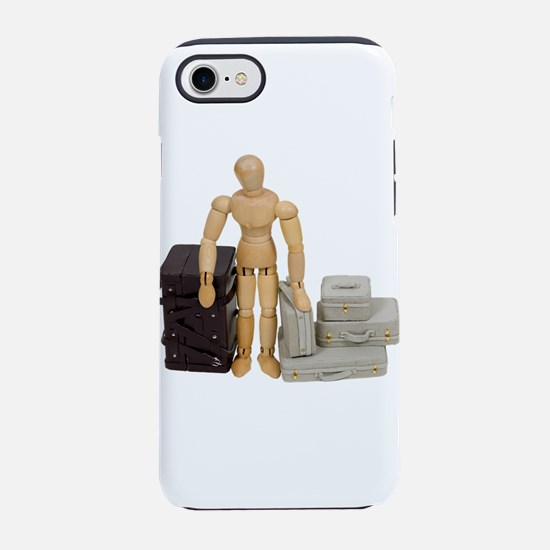 TravelLuggage112409.png iPhone 7 Tough Case