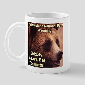 Grizzly Bears Eat Tourists Mug