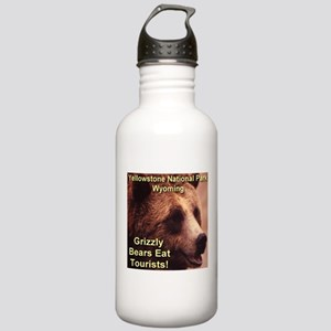 Grizzly Bears Eat Tourists Stainless Water Bottle