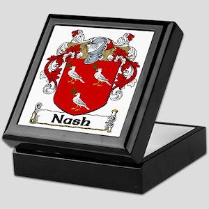 Nash Coat of Arms Keepsake Box