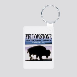 Yellowstone National Park Est Aluminum Photo Keych