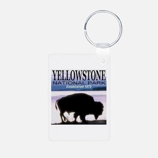 Yellowstone National Park Est Keychains