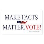 Make Facts Matter. Vote. Sticker