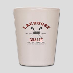 Lacrosse Goalie Shot Glass