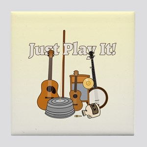 Just Play It! Tile Coaster
