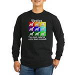 Westies Long Sleeve Dark T-Shirt