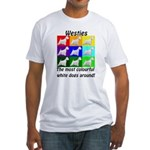 Westies Fitted T-Shirt