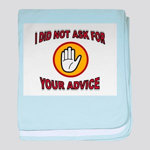 NO ADVICE AVAILABLE baby blanket