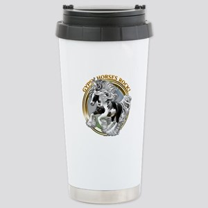Gypsy Horses Rock Stainless Steel Travel Mug