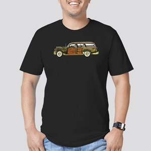 Classic Woody Station Wagon Men's Fitted T-Shirt (