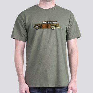 Classic Woody Station Wagon Dark T-Shirt