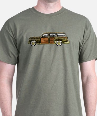 Classic Woody Station Wagon T-Shirt