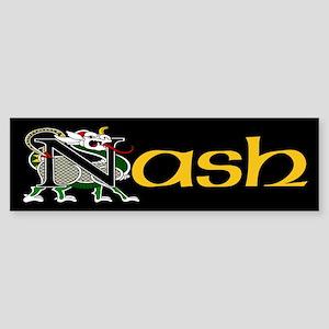 Nash Celtic Dragon Bumper Sticker