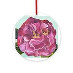 Camellia Round Ornament