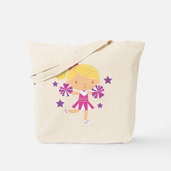 Cute Cheerleader Girl Tote Bag