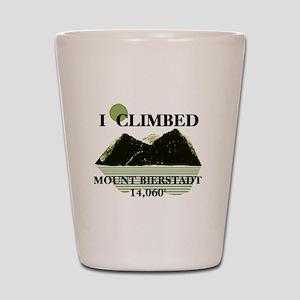 I Climbed Mount Bierstadt Shot Glass