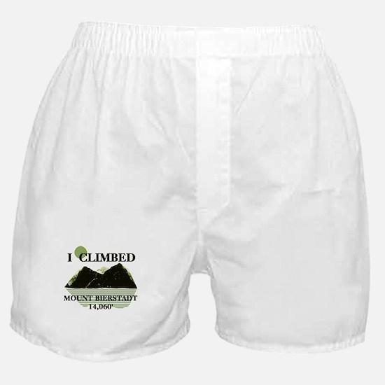 I Climbed Mount Bierstadt Boxer Shorts