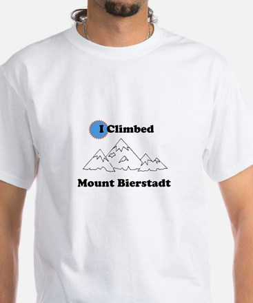 I Climbed Mount Bierstadt White T-Shirt