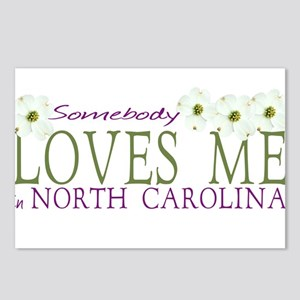 Somebody loves me in NC Postcards (Package of 8)