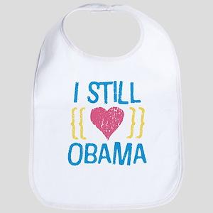 Still Love Obama Bib
