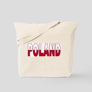 Poland World Cup Soccer Flag Tote Bag