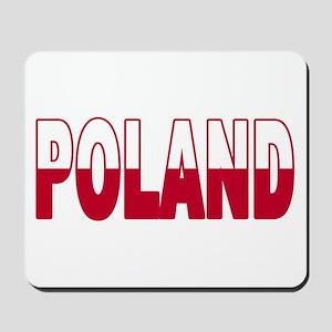 Poland World Cup Soccer Flag Mousepad