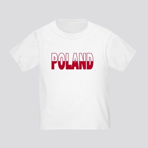 Poland World Cup Soccer Flag Toddler T-Shir